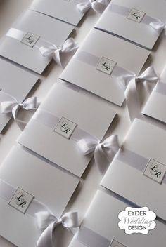 Libretto messa per cerimonia Eyder Wedding Design
