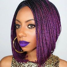 Wait a minute, this is a wig?!  @jfashiongirl87 #braids #boxbraids #bestboxbraids