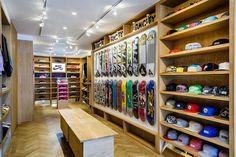 Slam City Skates East store, London