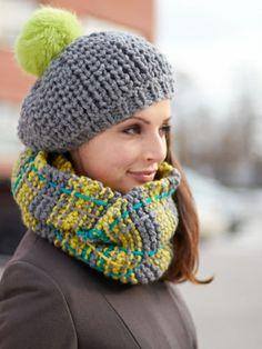 Winter Weather Set | Yarn | Free Knitting Patterns | Crochet Patterns | Yarnspirations