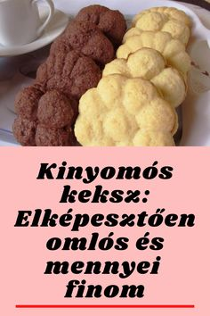 Hungarian Desserts, Kaja, Crunches, Cookie Jars, Cake Cookies, No Bake Cake, Biscuits, Sweets, Snacks