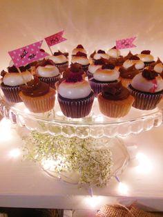 Mini cupcakes en Shine a light Table de Süss Pastelería