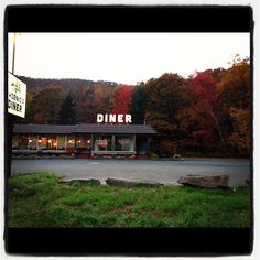 Diners in the Catskills.