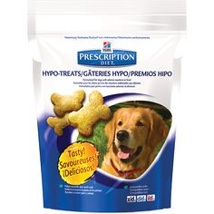 Food allergies? Hypoallergenic treats for dogs!