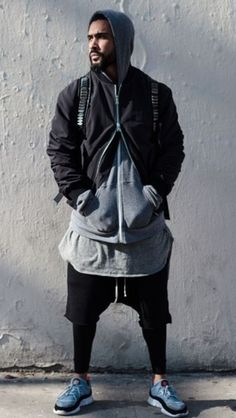 Nice sporty layered style