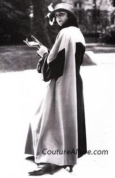 poiret | Two-tone coat by Paul Poiret, c. 1925. A garment by Paul Poiret is my ...