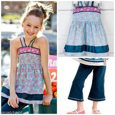 MATILDA-JANE-Wonderful-Parade-PONTOON-HALTER-Top-Footloose-Capri-Pants-SET-2
