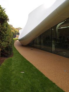 Serpentine Sackler Gallery by Zaha Hadid