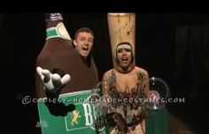 Beer and Wine Couple Costume Inspired by SNL Liquorville Sketch...