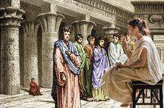 Hipatia de Alejandria, ilustracion