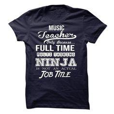 Music Teacher T Shirts, Hoodies. Check price ==► https://www.sunfrog.com/LifeStyle/Music-Teacher-46944561-Guys.html?41382