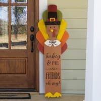 Thanksgiving Wood Crafts, Thanksgiving Flowers, Fall Crafts, Holiday Crafts, Thanksgiving 2020, Decorating For Thanksgiving, Diy Thanksgiving Decorations, Turkey Decorations, Outside Fall Decorations