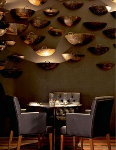 A hotel full of history with a mid-century style touch. Don't wait to see everyting about Hotel Opera Paris! Mexican Restaurant Decor, Restaurant Themes, Restaurant Lighting, Outdoor Restaurant, Cafe Restaurant, Café Bar, Mid Century Modern Lighting, Bar Seating, Restaurant Interior Design