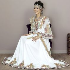 Robe kabyle pour mariee 2019