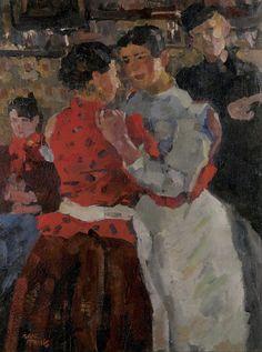 Isaac Israëls (1865-1934) - Women in a dance hall on the Zeedijk (1992-93)