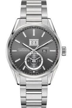 Tag Heuer Carrera Calibre 8 GMT Men's #Watch www.genesisdiamonds.net #giftforhim