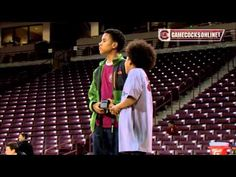 "Young ""Miracle Child"" South Carolina Basketball fan Keldon Hemingway had a special experience at a men's basketball game thanks to USC's Dance Marathon and Palmetto Health Children's Hospital/Children's Miracle Network."