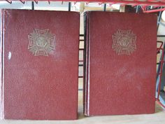 Veterans of Foreign Wars of the United States Volumes 1 & 2 - 1951- $16