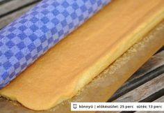 Vizes piskóta alaprecept Hungarian Cake, Hungarian Recipes, Hungarian Food, Torte Cake, Baking And Pastry, Love Is Sweet, International Recipes, Butcher Block Cutting Board, Hot Dog Buns