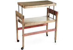 Vintage Bar Cart on OneKingsLane.com