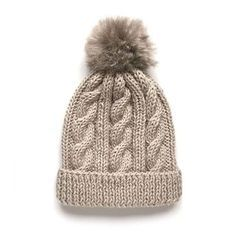 Learn how to Make this Knitted Wool Beanie with Fur Pom Pom. FREE Step by Step Pattern & Tutorial. Amaze yourself about how easy it is! hat pattern free straight needles Wool Beanie with fur pom pom – Knitting Pattern & Tutorial Beanie Knitting Patterns Free, Knit Beanie Pattern, Crochet Baby Beanie, Baby Hats Knitting, Knitting Designs, Free Knitting, Hat Patterns, Charity Knitting, Baby Scarf