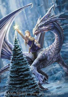 Anne Stokes, Snow Dragon, Dragon Art, Creature Drawings, Animal Drawings, Fantasy Kunst, Fantasy Art, Dark Fantasy, In The Zoo