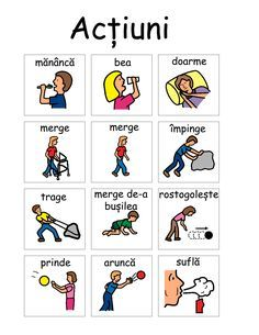 PECS - Resurse multimedia – terapie in autism Autism Activities, Kindergarten Activities, Pec Cards, Romanian Language, Russian Language Learning, Love Teacher, Children Images, School Lessons, Literatura