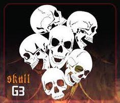 Image result for skull stencils Skull Stencil, Tattoo Stencils, Stencil Art, Skull Art, Stenciling, Free Stencils, Stencil Templates, Stencil Designs, Airbrush Skull