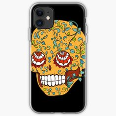 Promote | Redbubble Sugar Skull Design, Promotion, Phone Cases, Phone Case