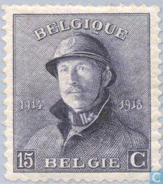Belgium [BEL] - King Albert I (with helmet)19