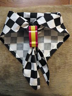 Cub Scout Pack 436, Lebanon OH.  This is our 2014 Pinewood Derby Neckerchief and Slide.