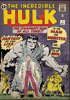 The Incredible Hulk is an ongoing comic book series featuring the Marvel Comics superhero the Hulk and his alter ego Dr. Bruce Banner. First published in May 1962, the series ran for six issues before it was cancelled in March 1963, and the Hulk character began appearing in Tales to Astonish. With issue #102, Tales to Astonish was renamed to The Incredible Hulk in April 1968, becoming its second volume.