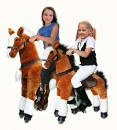 UFREE Action Pony, Large Mechanical Horse Toy, Ride on Bounce up and Down and Move, Height 44 inch for Children 6 Years to Adult Black Mane and Tail Toddler Toys, Kids Toys, Toddler Learning, Learning Toys, Mechanical Horse, Barbie Horse, Rocking Horse Toy, Horse Profile, Stick Horses