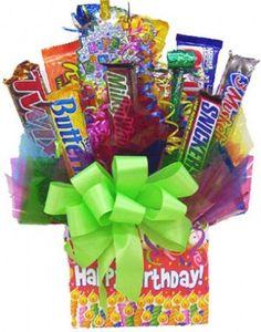 candy bars | Candy Bar Bouquet