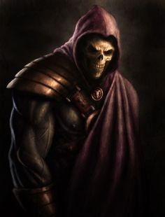 Skeletor by Quentin Vogel~Badass!!