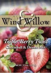 Wind & Willow Triple Berry Twist Cheeseball & Dessert Mix | Missouri Made Food, Gifts, Gift baskets. Made in Missouri products www.missourigiftbasket.com