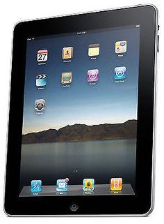 Apple iPad 1st Generation 64GB, Wi-Fi + 3G (AT&T), 9.7in - Black (1CR). Deal Price: $149.95. List Price: $599.00. Visit http://dealtodeals.com/apple-ipad-1st-generation-64gb-wi-fi-3g-7in-black-1cr/d20418/ipad-tablets/c32/