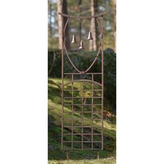 Have to have it. Oriental 5.5 Foot Iron 3-Bell Trellis - $346.99 @hayneedle