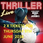 #Ticket  Thriller Live Tickets x 2 June 9th Bournemouth 7.30pm #nederland