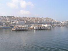 Algeria, Algiers - Harbour.
