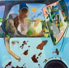 Driving: Dana Schutz