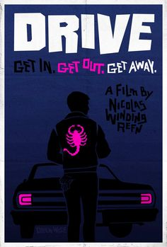 Drive Film Poster by gamma724