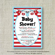 baby showers on pinterest thing 1 thing 2 dr seuss and thing 1