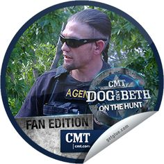 Steffie Doll's Dog and Beth: On the Hunt: Rock Bottom Bounty Sticker   GetGlue