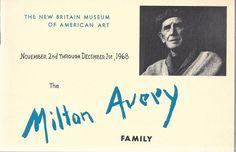 The Milton Avery Family November 2nd through December 1st, 1968 Paperback