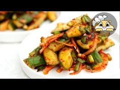 Easy Cucumber Kimchi Recipe (Oi-Sobagi: 오이소박이) - Hungry Gopher