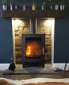 We proudly supply & install some of the greenest woodburning stoves in the world. We install throughout the York, Harrogate and Leeds areas. Modern Stoves, Wood Burner, Home Appliances, House, Ideas, Design, Home Decor, House Appliances, Wood Burning Cook Stove