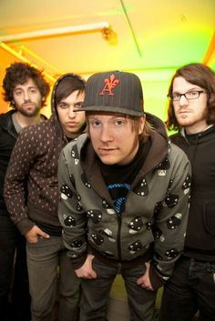 Fall out boy... This is my backround