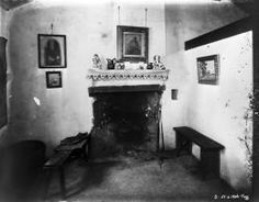 National Museums Northern Ireland  subject : house interior 'The Chimney Corner' in Dr. Alexander Irvine's birthplace, Pogue's Entry, Antrim