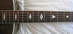 """Guitar Accessories New 1 Pcs 25.5 """"nice Ebony Guitar Fingerboard Guitar Parts 00-4 #"""